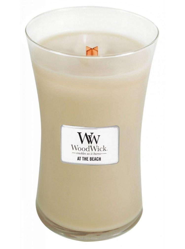 WoodWick vonná svíčka At the Beach velká váza