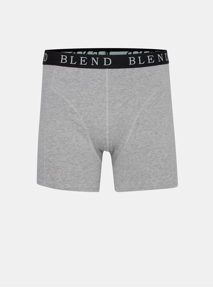 Boxeri mulati pentru barbati Blend - negru, gri