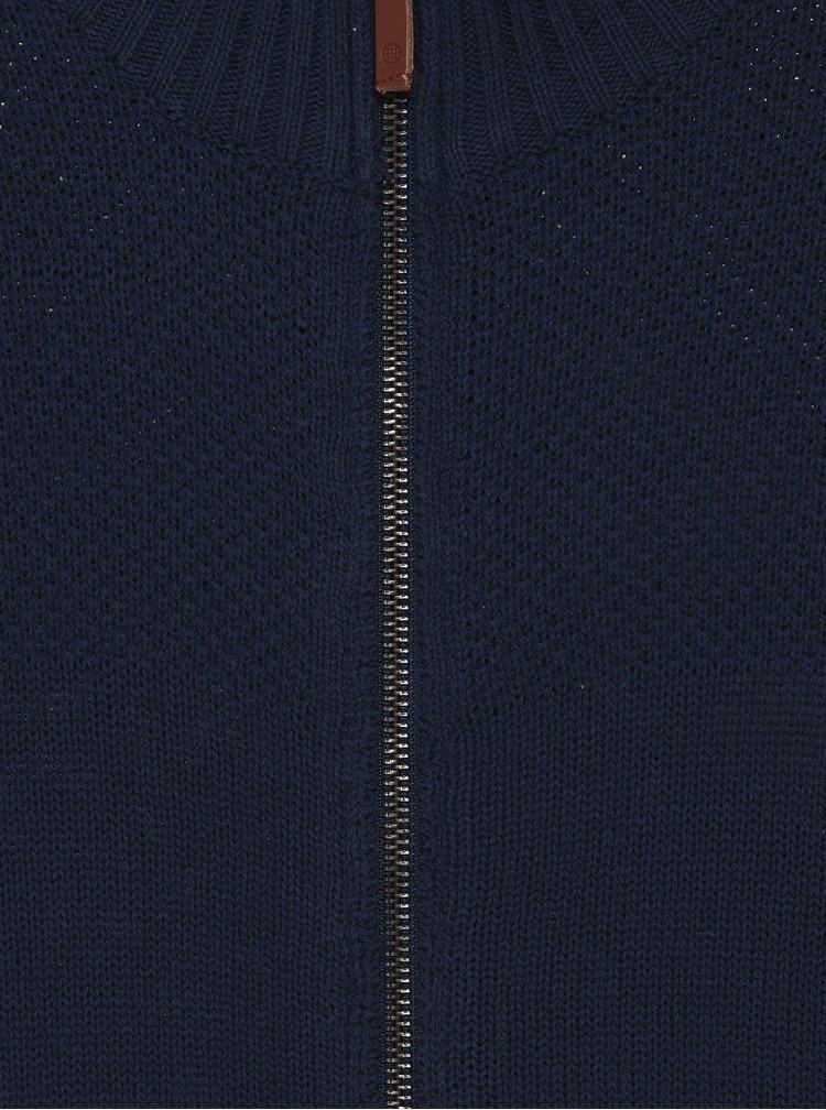Tmavě modrý kardigan Blend