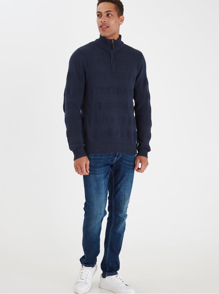 Tmavě modrý svetr Blend