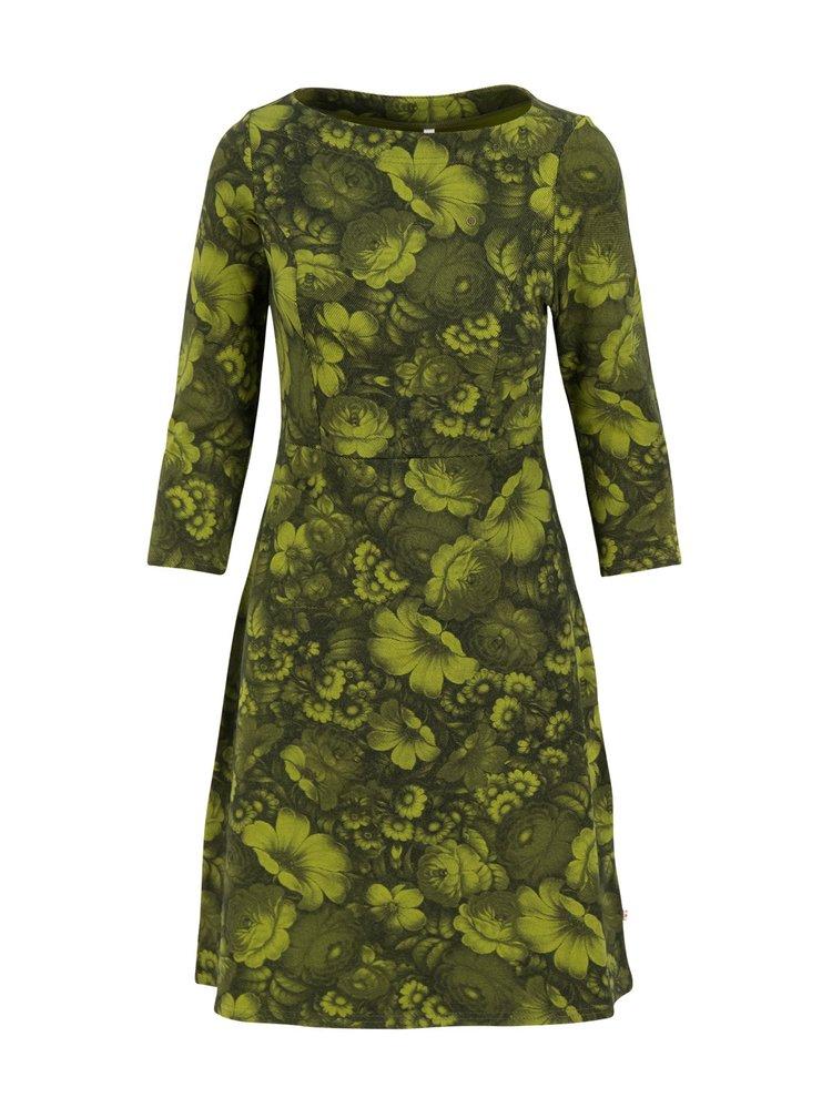 Blutsgeschwister zelené šaty Wildwood Flowers