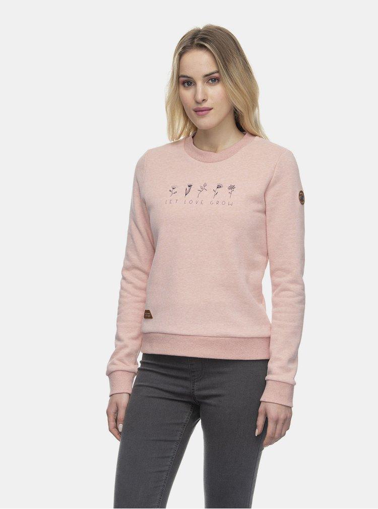 Hanorace pentru femei Ragwear - roz deschis