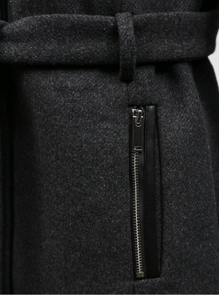 Paltoane  pentru femei ONLY - gri inchis
