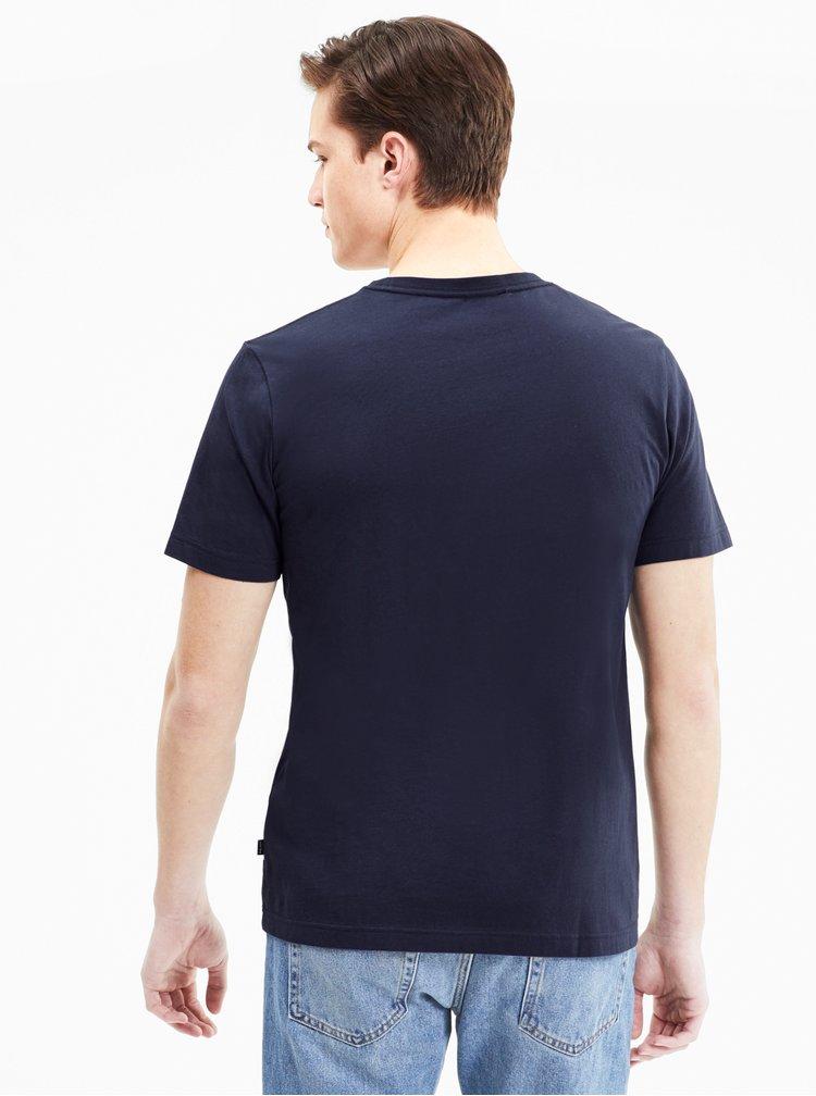 Tricouri si bluze pentru barbati Puma - albastru inchis