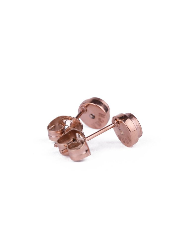 Vuch náušnice Pinkclear Rose Gold