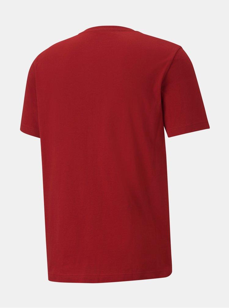 Tricouri si bluze pentru barbati Puma - rosu