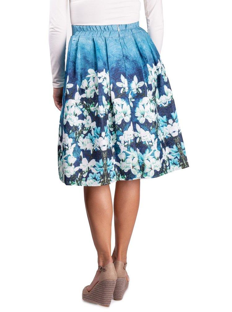 Simpo dámská sukně Blue Flowers