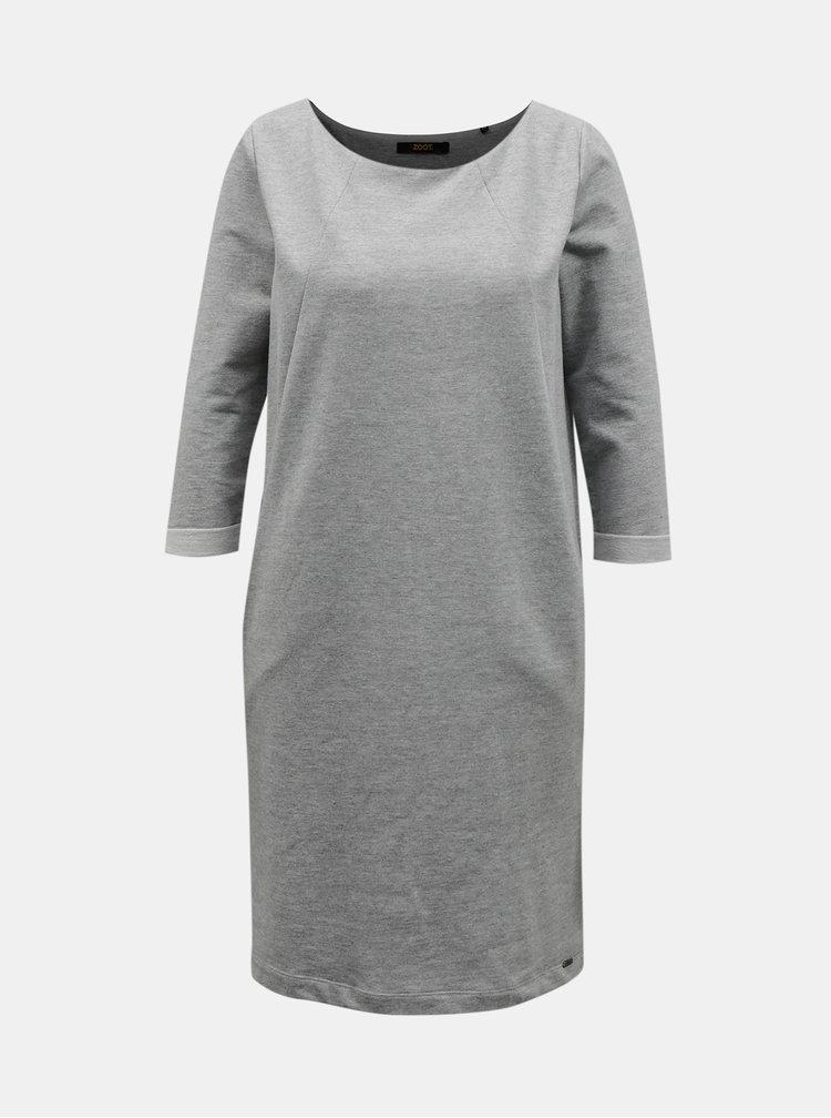 Šedé šaty ZOOT Baseline Hana 2