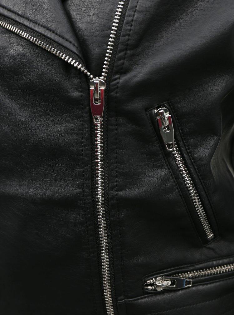 Černý koženkový křivák TALLY WEiJL