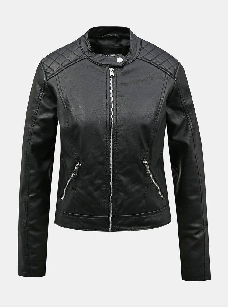 Jachete din piele naturala si sintetica pentru femei TALLY WEiJL - negru