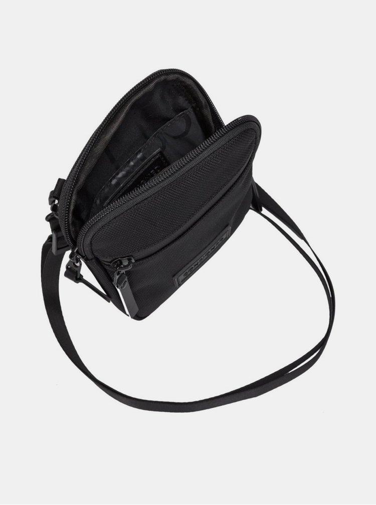 Černá malá crossbody taška Consigned