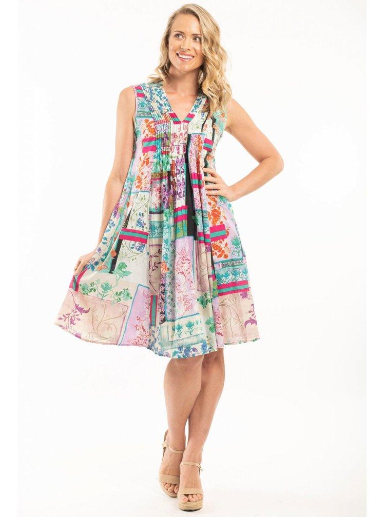 Orientique barevné šaty Zakynthos