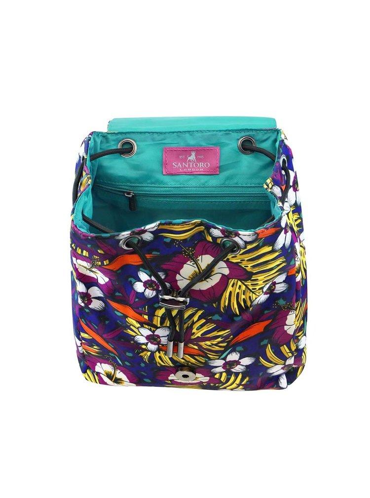 Santoro barevný batoh Tropic Jewel