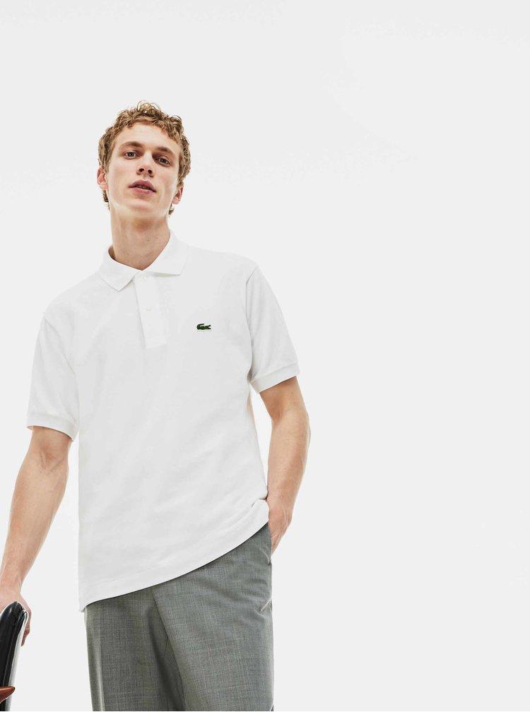 Tricouri basic pentru barbati Lacoste - alb