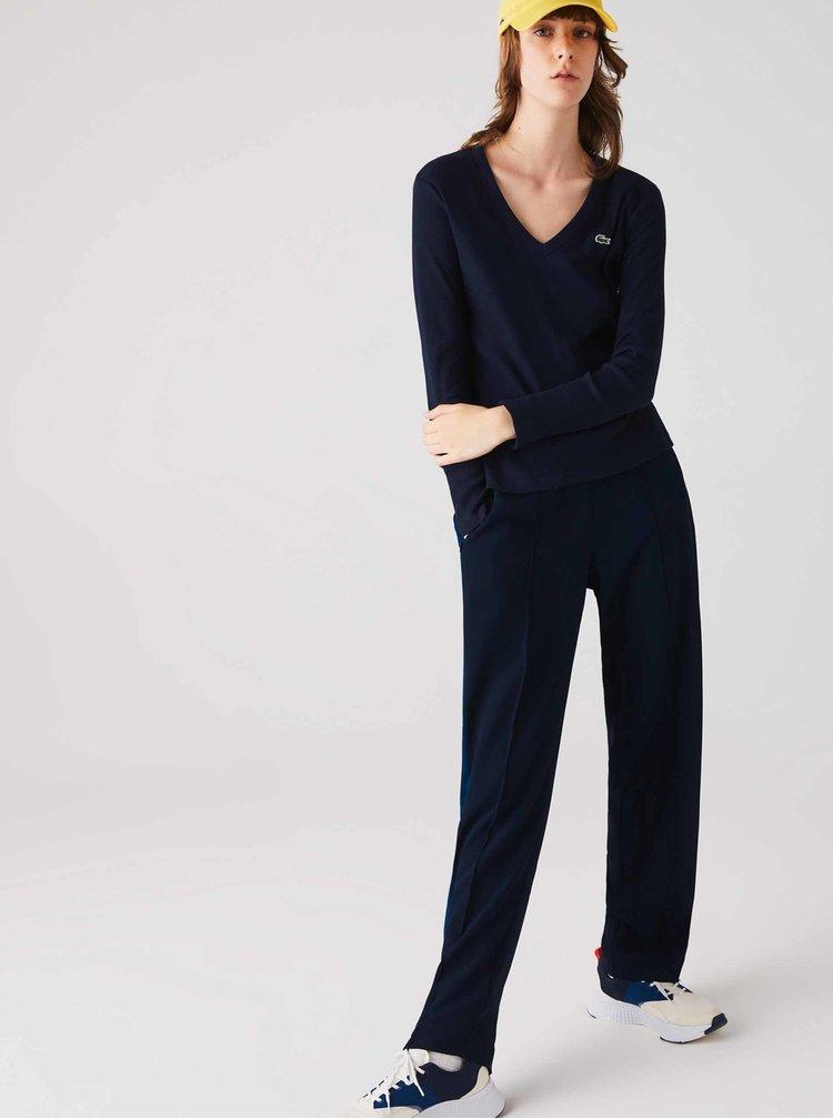 Bluze pentru femei Lacoste - albastru inchis