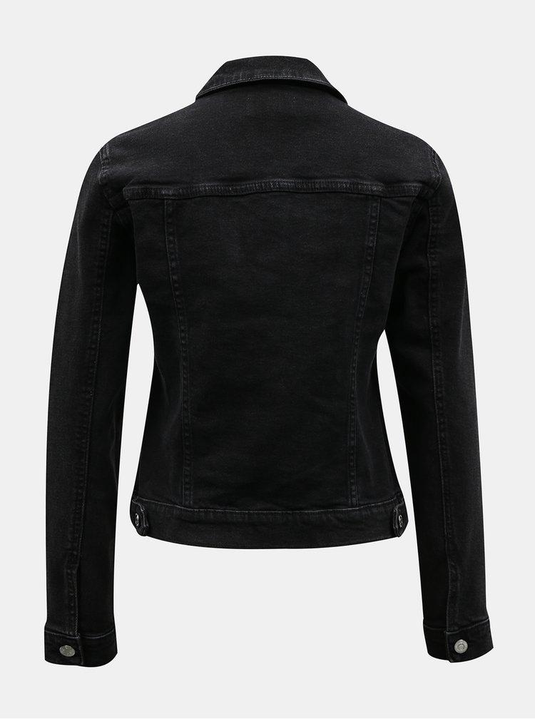 Černá džínová bunda TALLY WEiJL