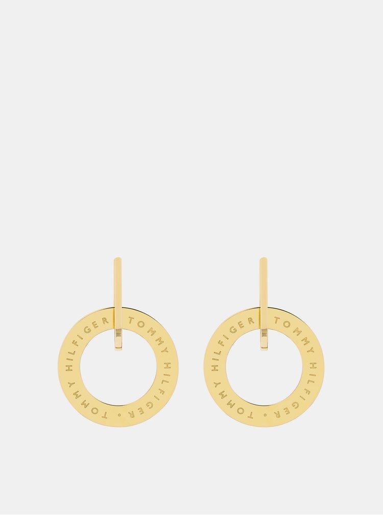 Dámské náušnice ve zlaté barvě Tommy Hilfiger