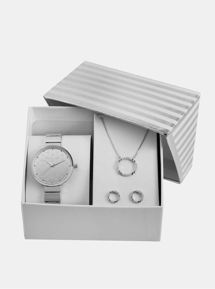 Sada dámský hodinek a šperků Excellanc