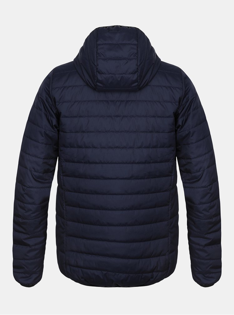 Tmavě modrá pánská zimní prošívaná bunda Hannah