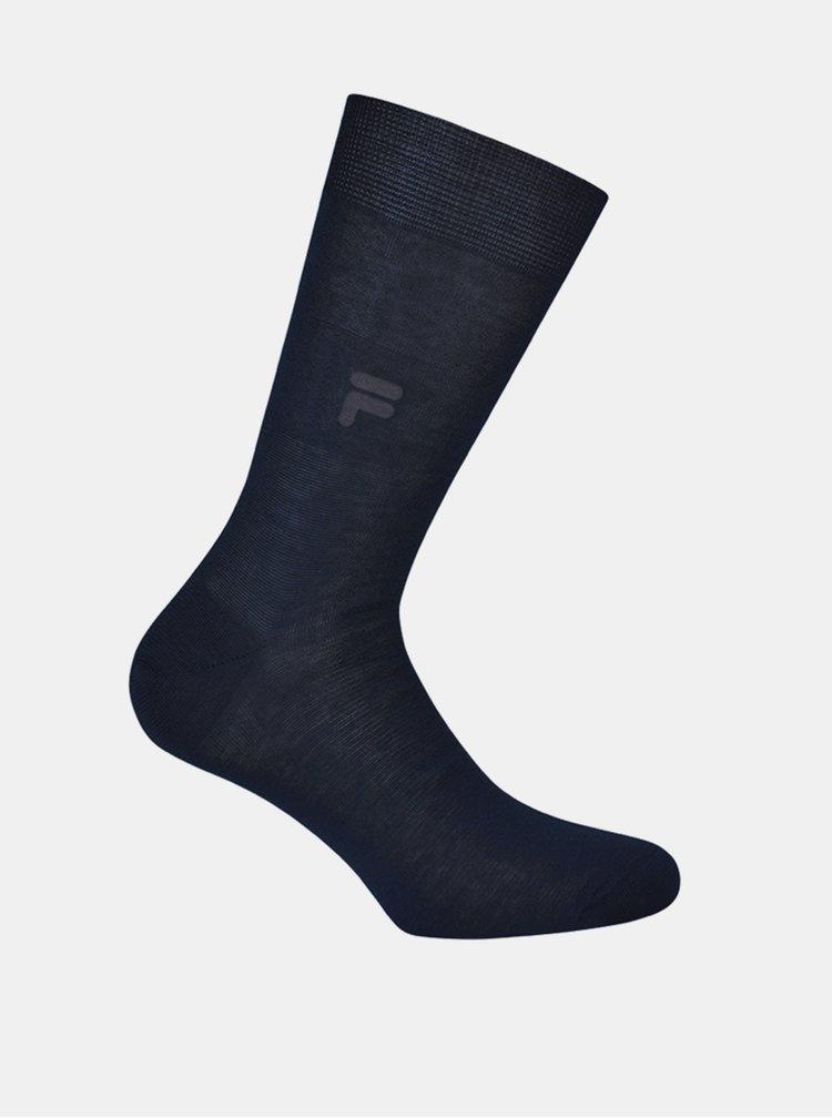 Tmavě modré pánské ponožky FILA