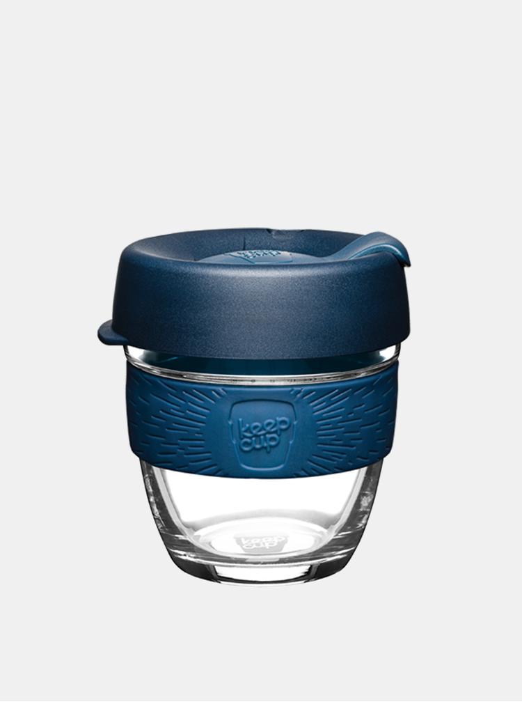Modrý skleněný cestovní hrnek KeepCup Brew Spruce small 227 ml