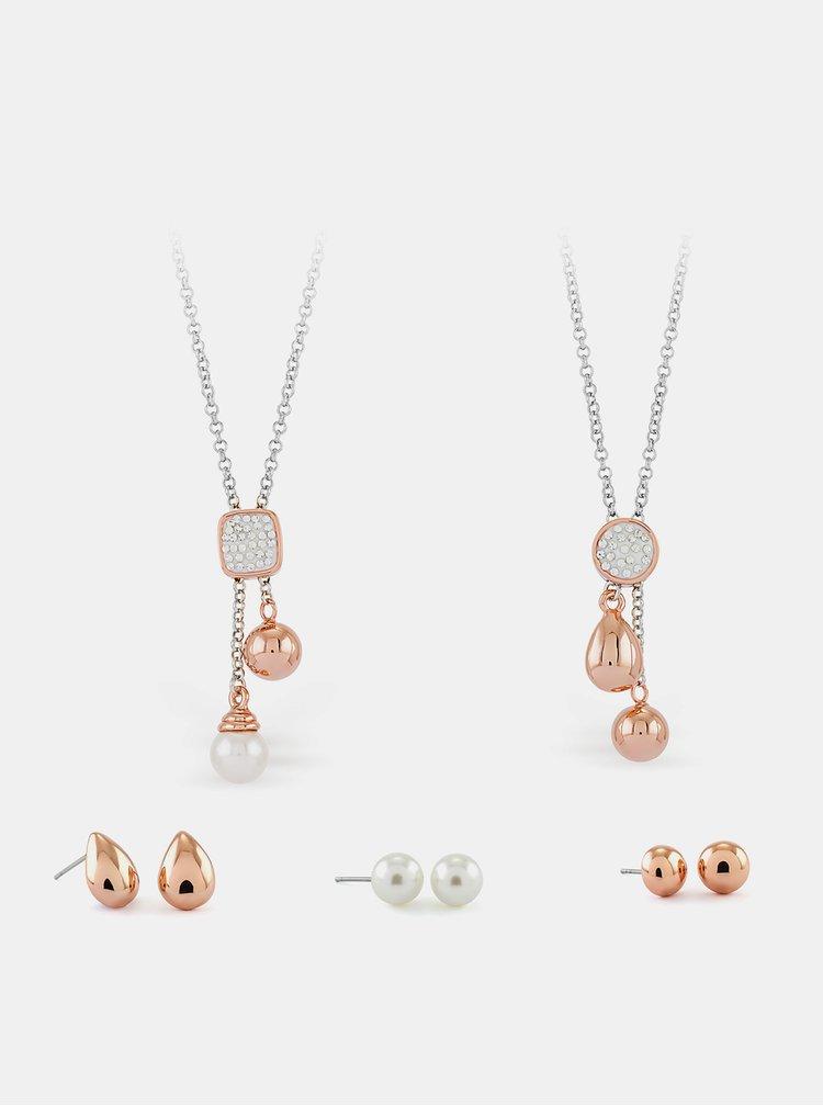 Sada dámských náušnic a náhrdelníků Pierre Cardin