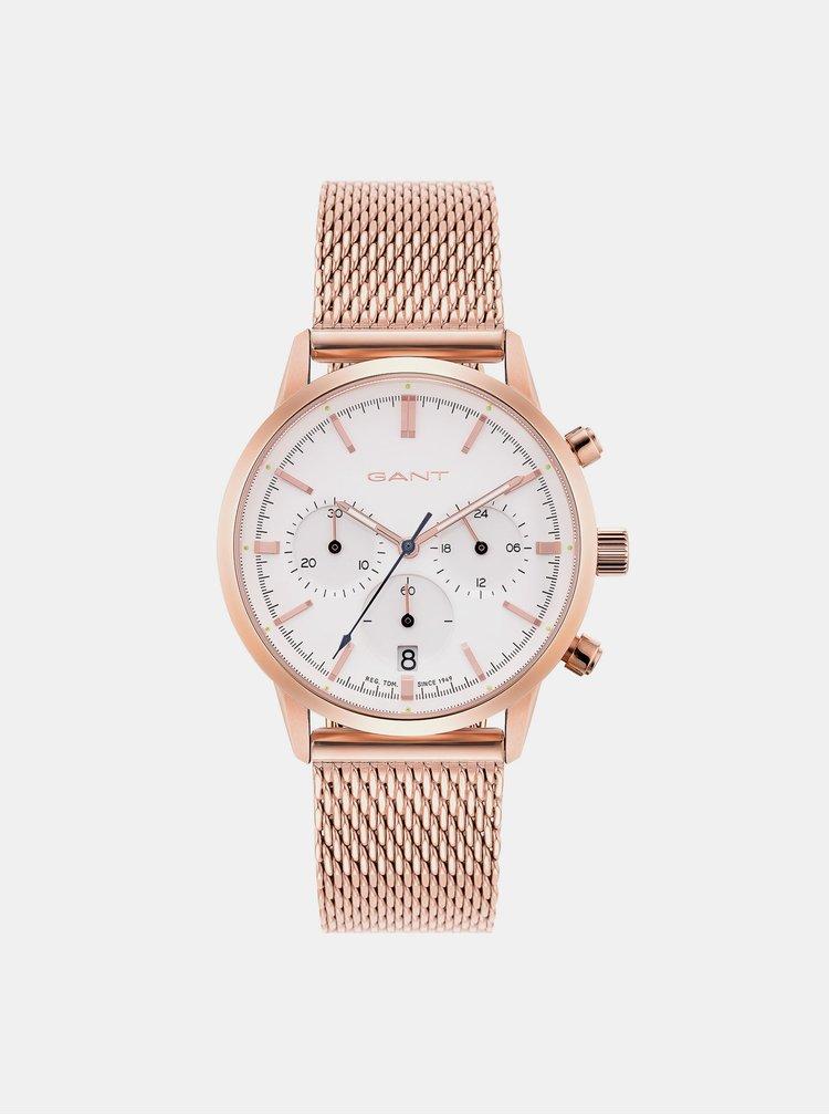 Ceasuri pentru femei GANT - roz auriu
