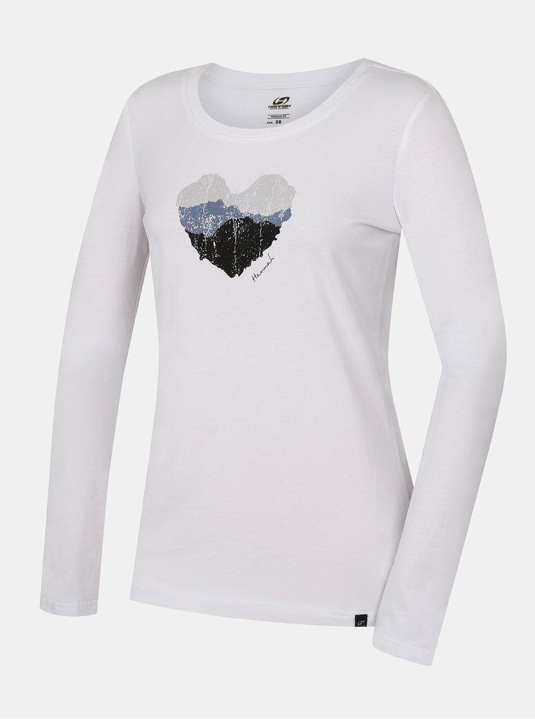 Topuri si tricouri pentru femei Hannah - alb