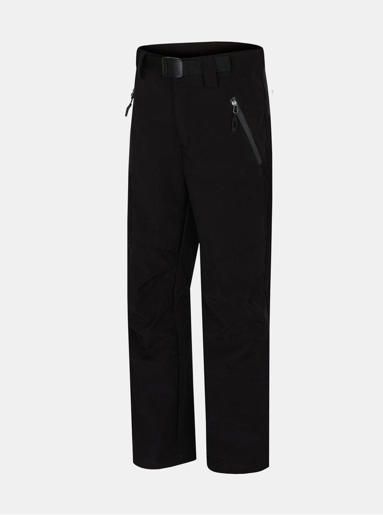 Černé klučičí zateplené kalhoty Hannah