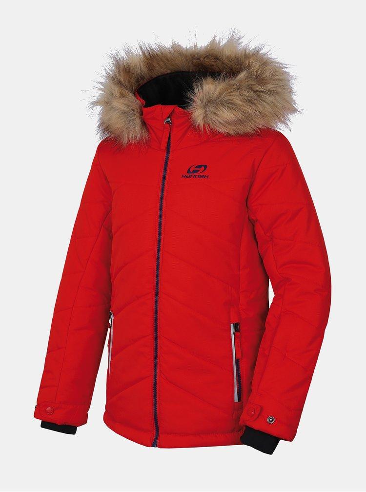Červená chlapčenská zimná bunda Hannah