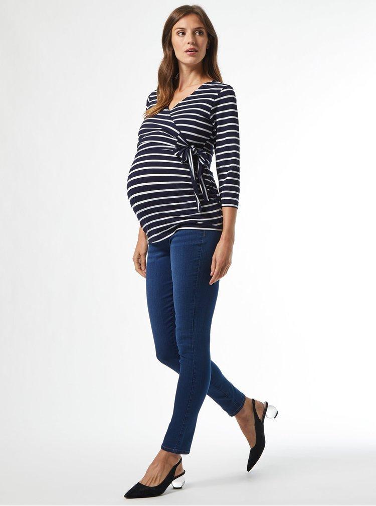 Marimi curvy pentru femei Dorothy Perkins Maternity - albastru inchis