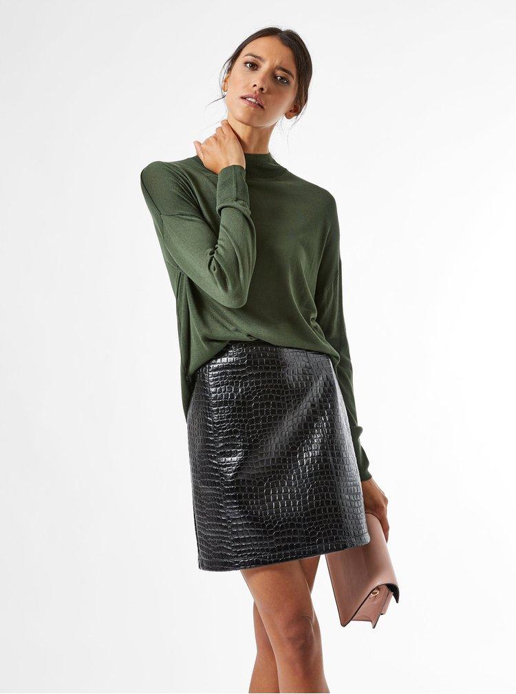 Khaki volný lehký svetr Dorothy Perkins
