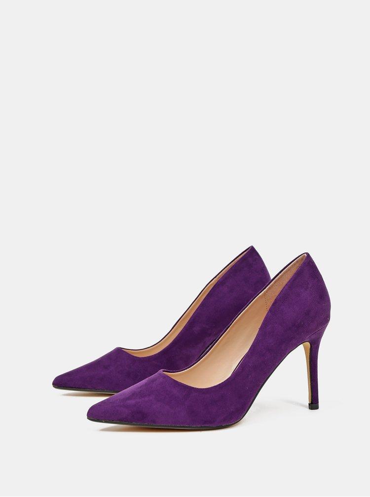 Pantofi cu toc pentru femei Dorothy Perkins - mov