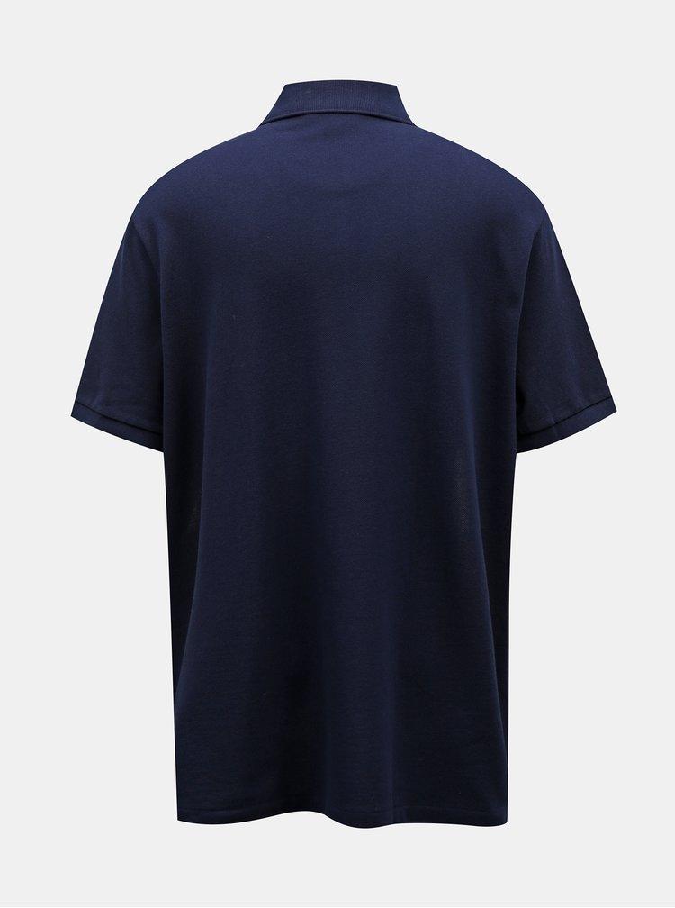 Tmavě modré pánské polo tričko Lacoste