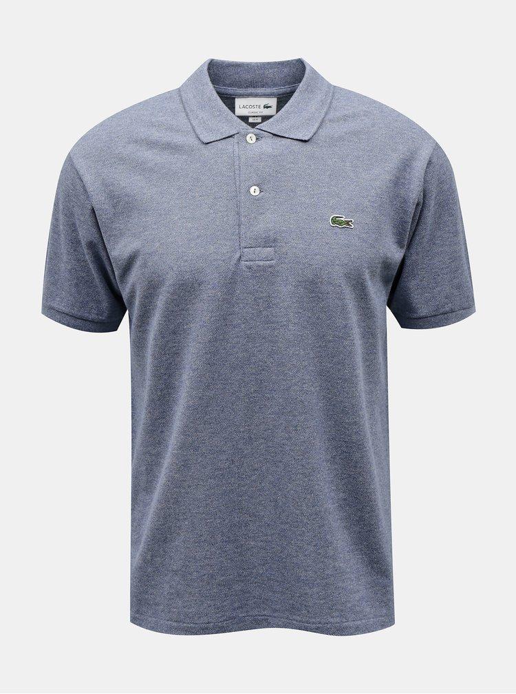 Světle modré pánské polo tričko Lacoste