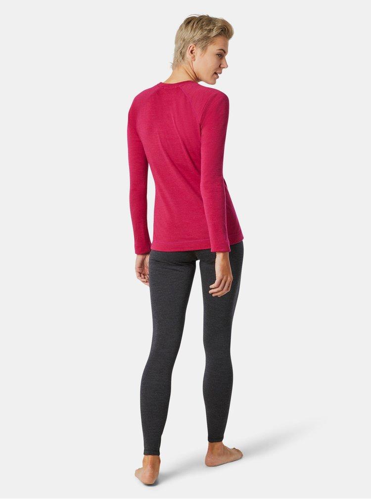 Růžové dámské sportovní tričko Smartwool