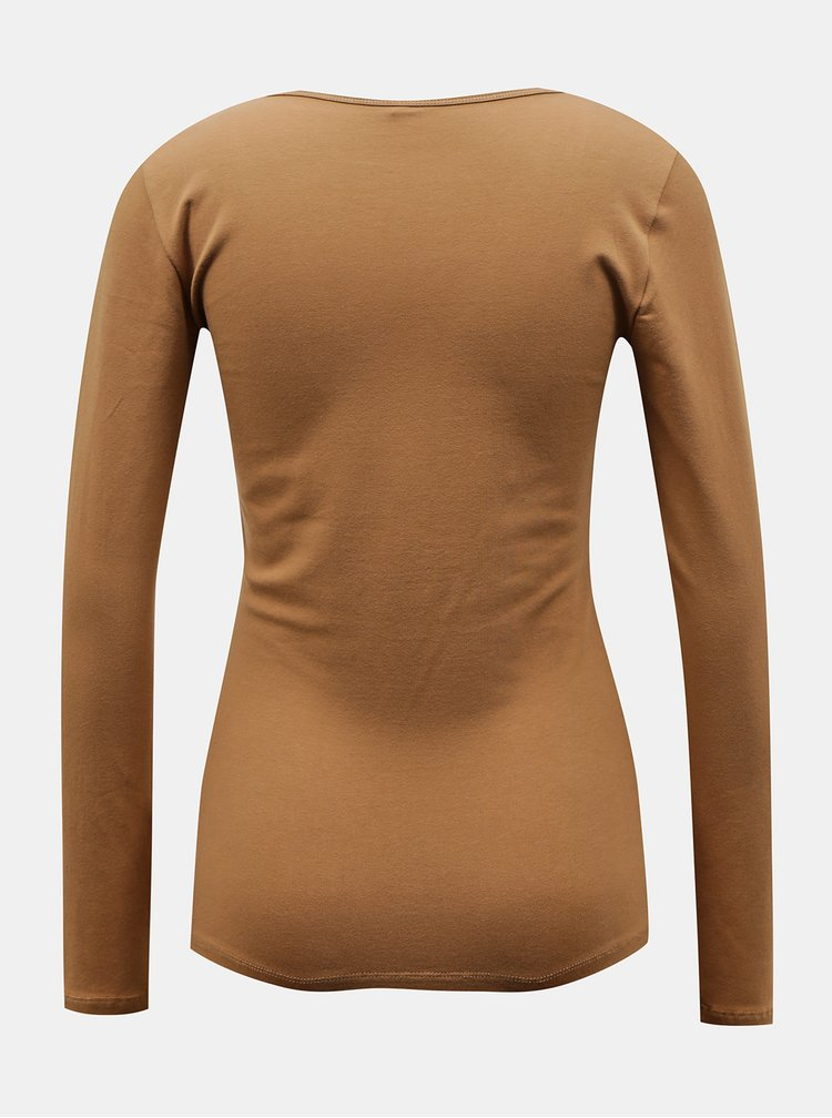 Topuri si tricouri pentru femei ONLY - maro