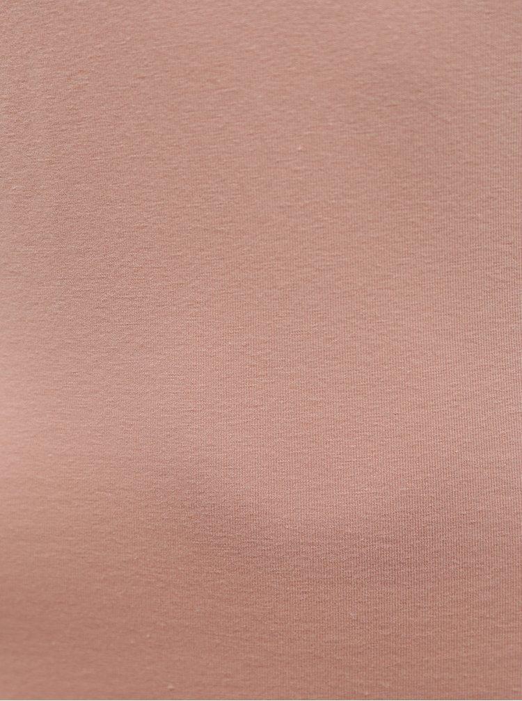 Topuri si tricouri pentru femei ONLY - roz deschis