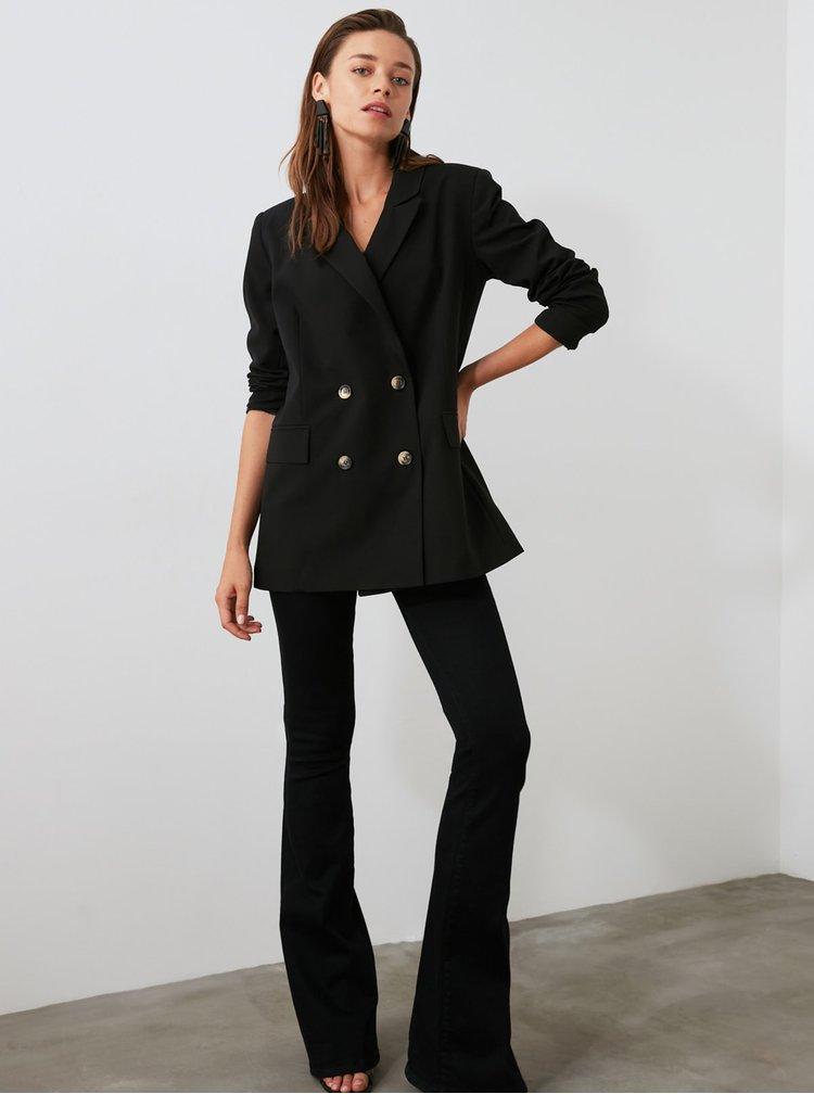 Sacouri si blazere pentru femei Trendyol - negru