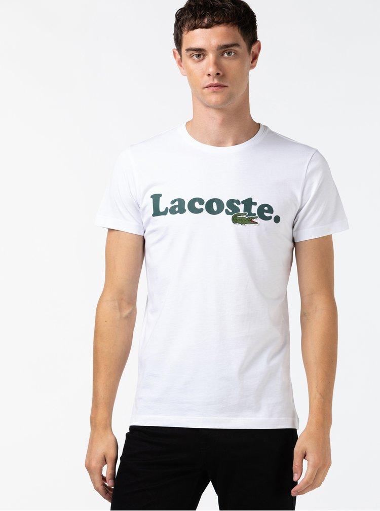 Bílé pánské tričko Lacoste