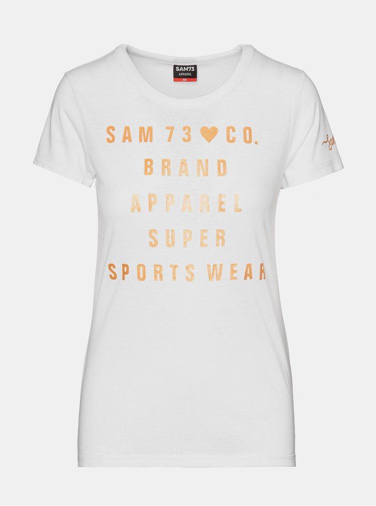 Tricouri pentru femei SAM 73 - alb