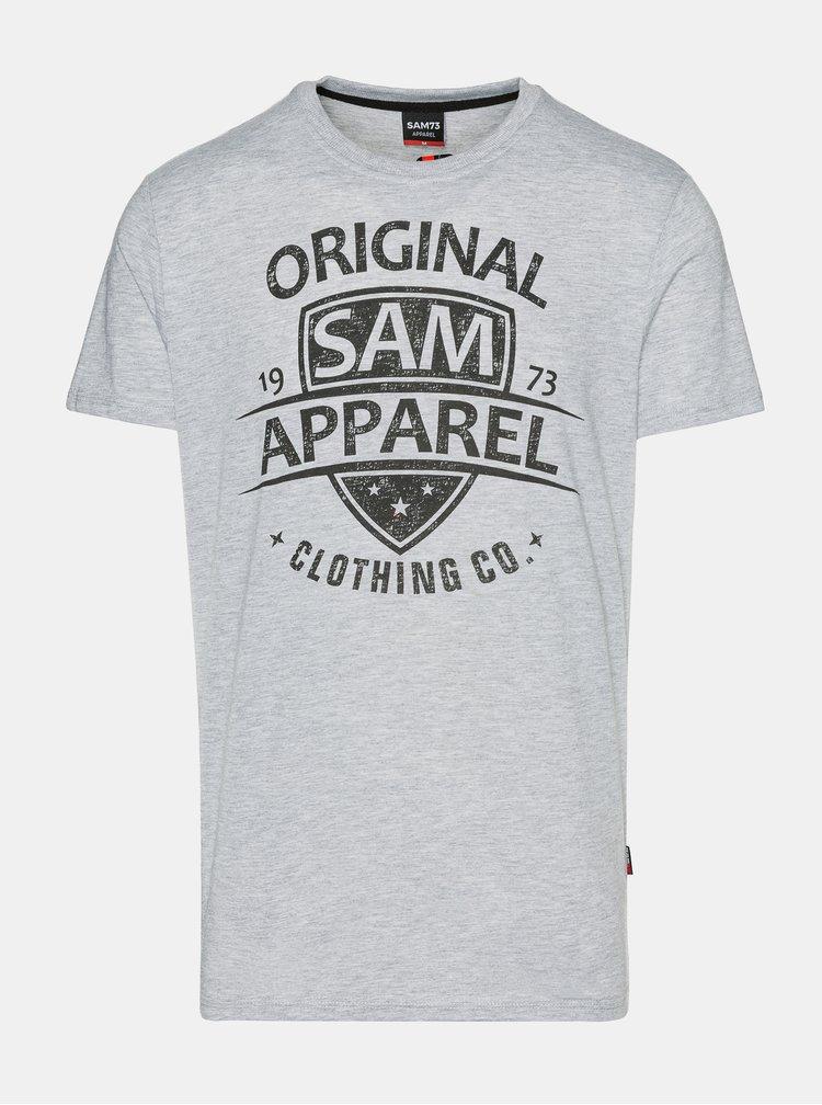 Tricouri pentru barbati SAM 73 - gri deschis
