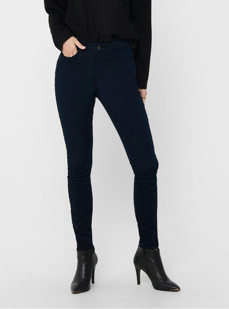 Tmavě modré skinny fit kalhoty Jacqueline de Yong
