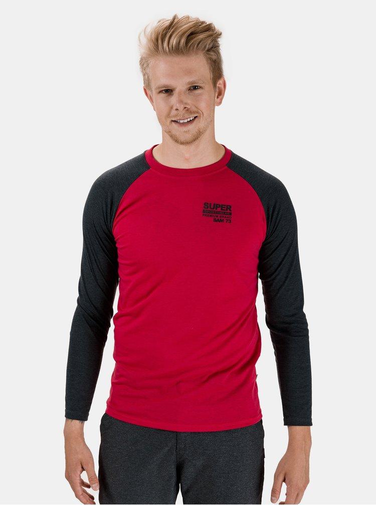 Červené pánské tričko SAM 73