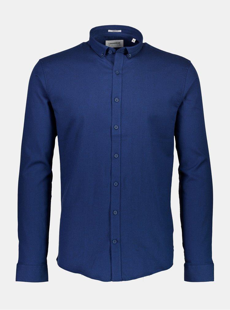 Camasi office pentru barbati Lindbergh - albastru inchis