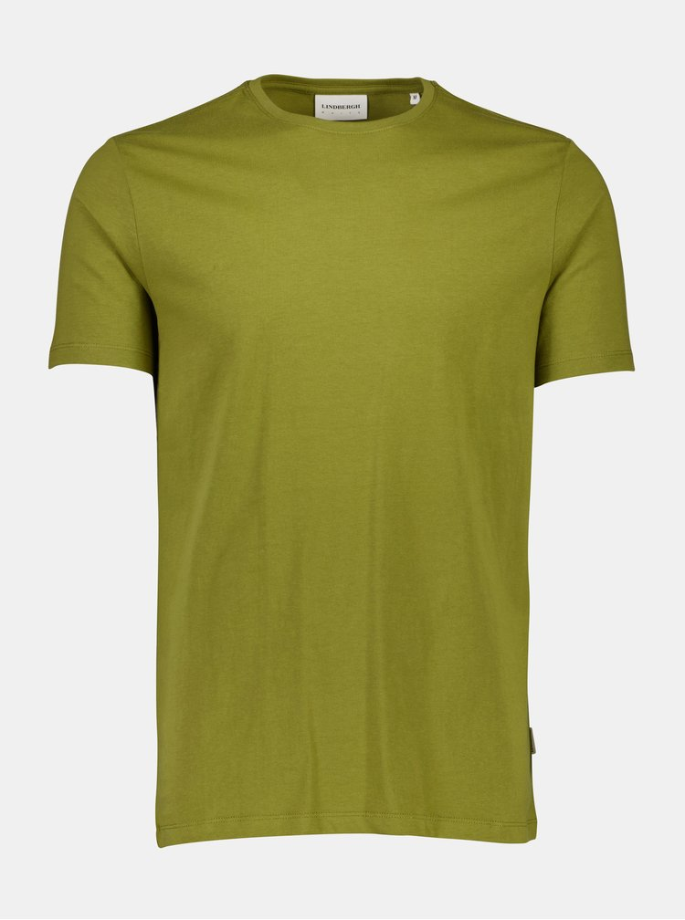 Tricouri basic pentru barbati Lindbergh - kaki