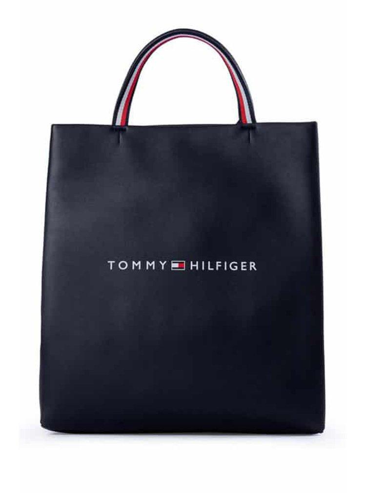 Tmavě modrá taška Tommy Hilfiger Tote Desert Sky