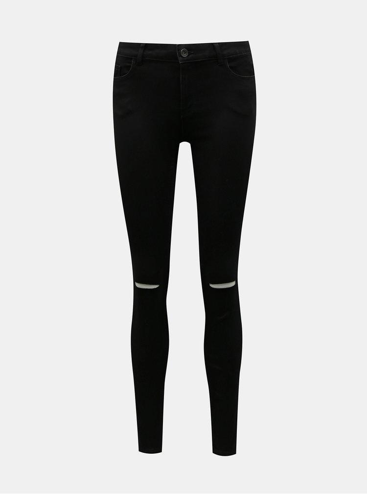 Černé skinny fit džíny VERO MODA