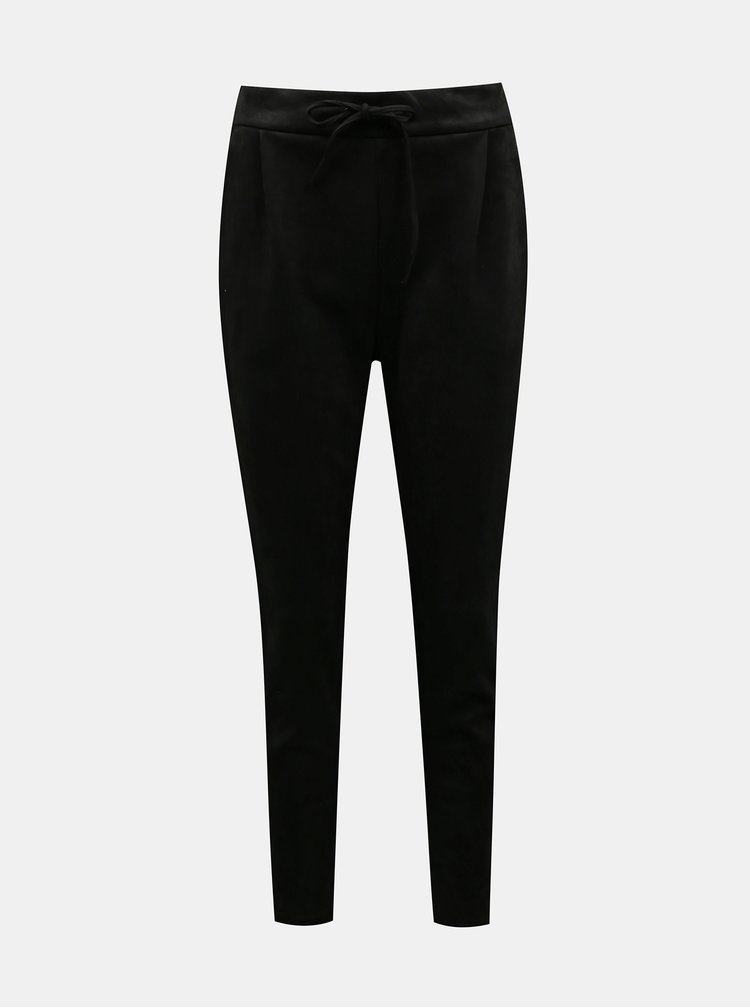 Černé kalhoty VERO MODA