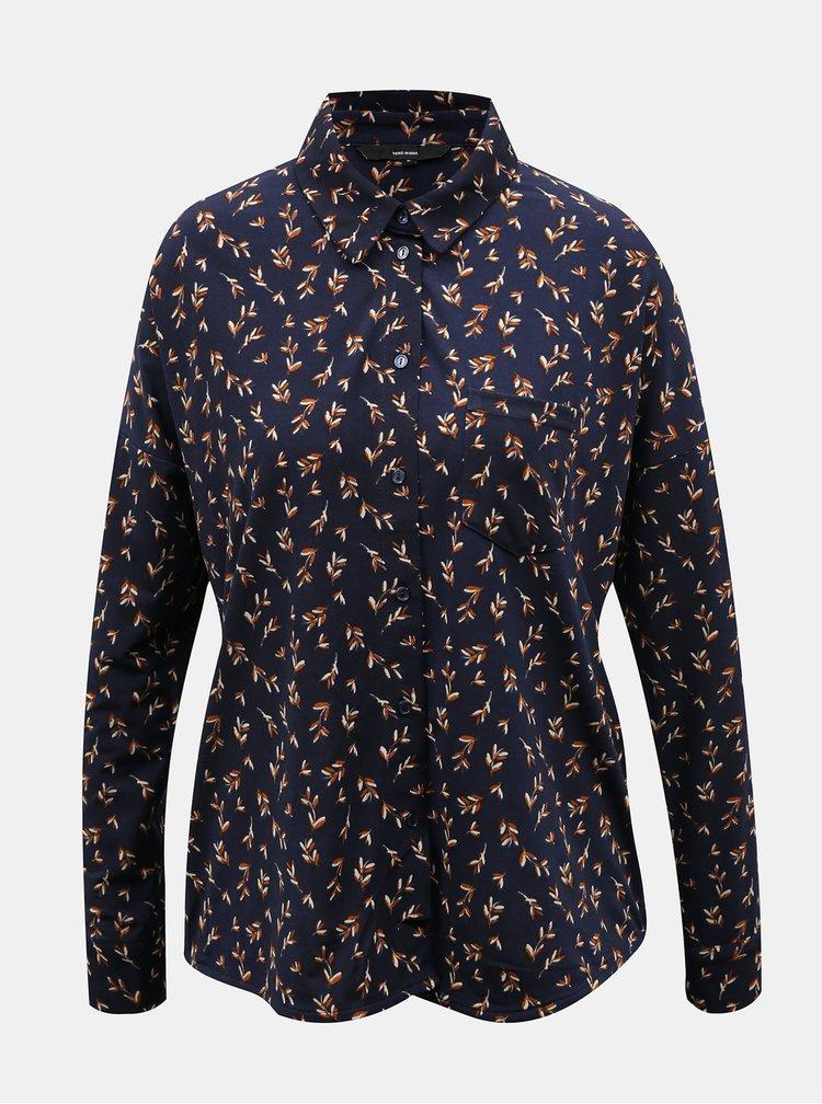Camasi pentru femei VERO MODA - albastru inchis